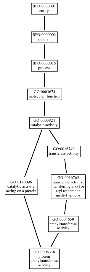 Graph of GO:0008318