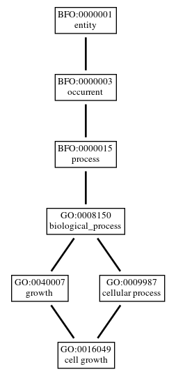 Graph of GO:0016049