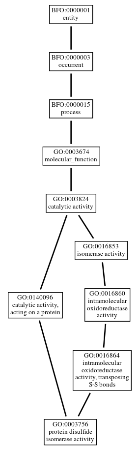 Graph of GO:0003756