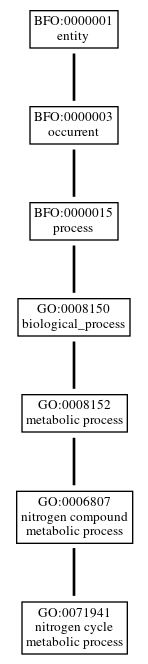 Graph of GO:0071941