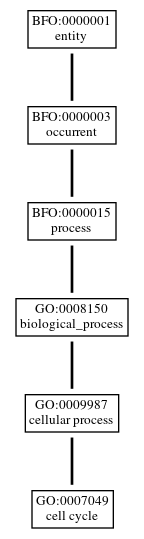 Graph of GO:0007049