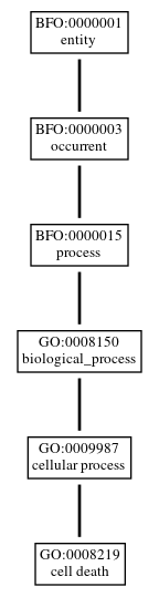 Graph of GO:0008219