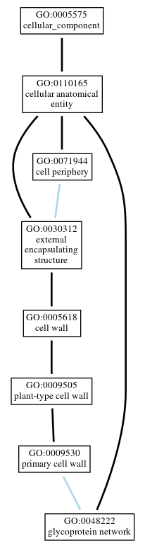 Graph of GO:0048222