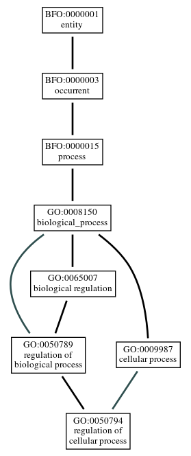 Graph of GO:0050794