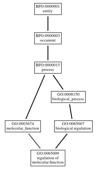 Graph of GO:0065009
