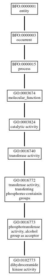 Graph of GO:0102773