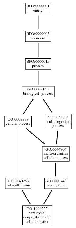 Graph of GO:1990277