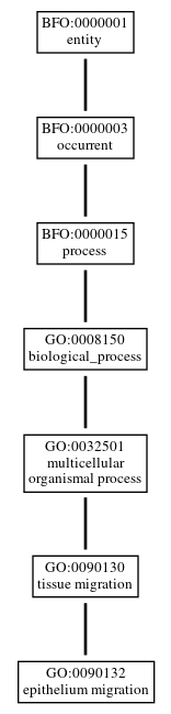 Graph of GO:0090132