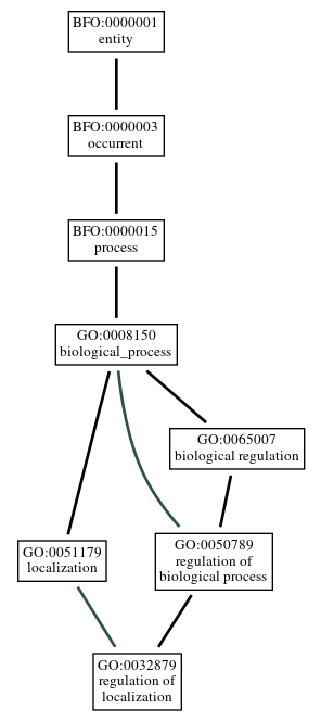 Graph of GO:0032879